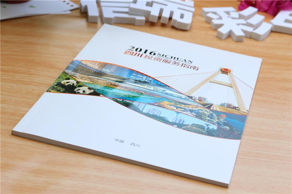 政府招商宣传画册物料展示